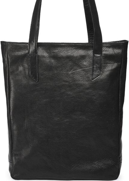 Kožená taška SHOPPER 26 - černá